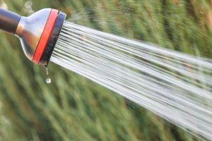 Garden hose spout