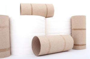 Recycled toilet paper could save water