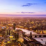 Houses in London saving water