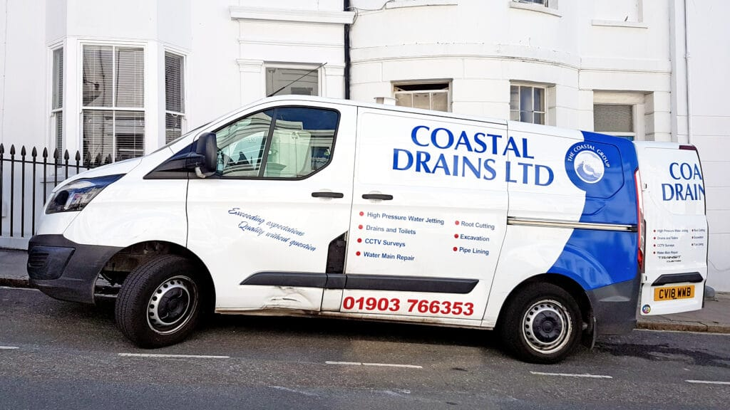 coastal drains van in brighton