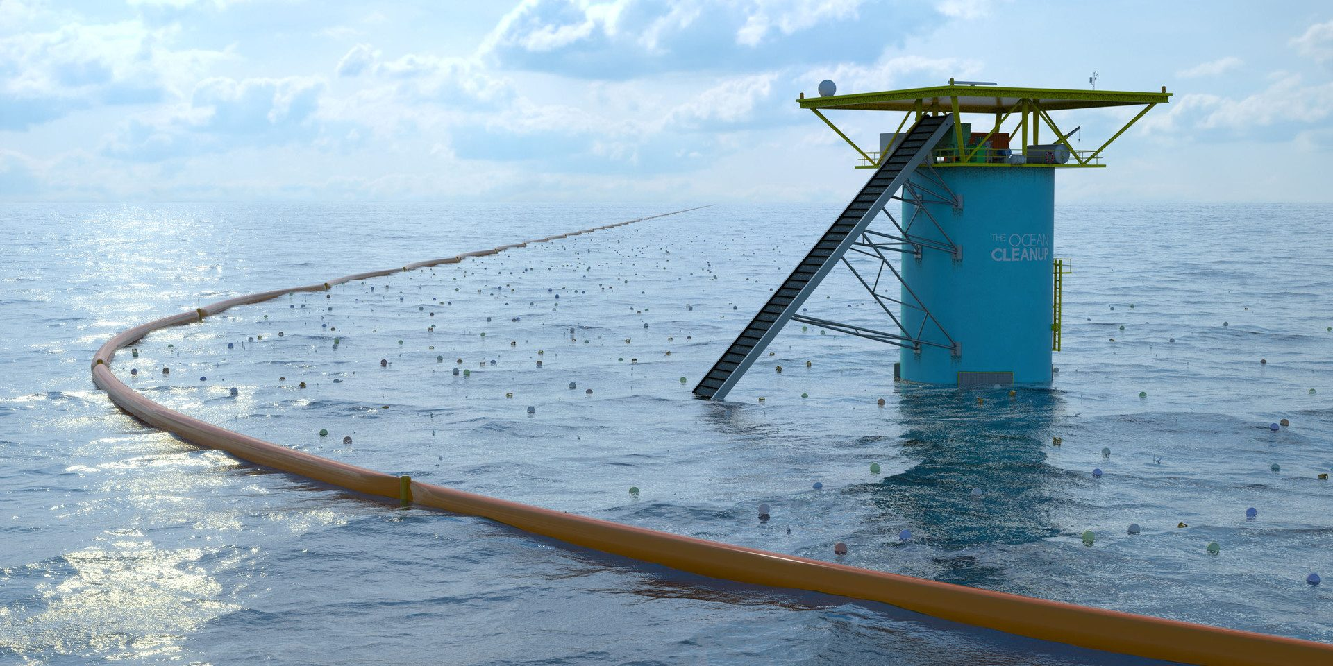 Cleaning Up The Ocean With Artificial Coastlines